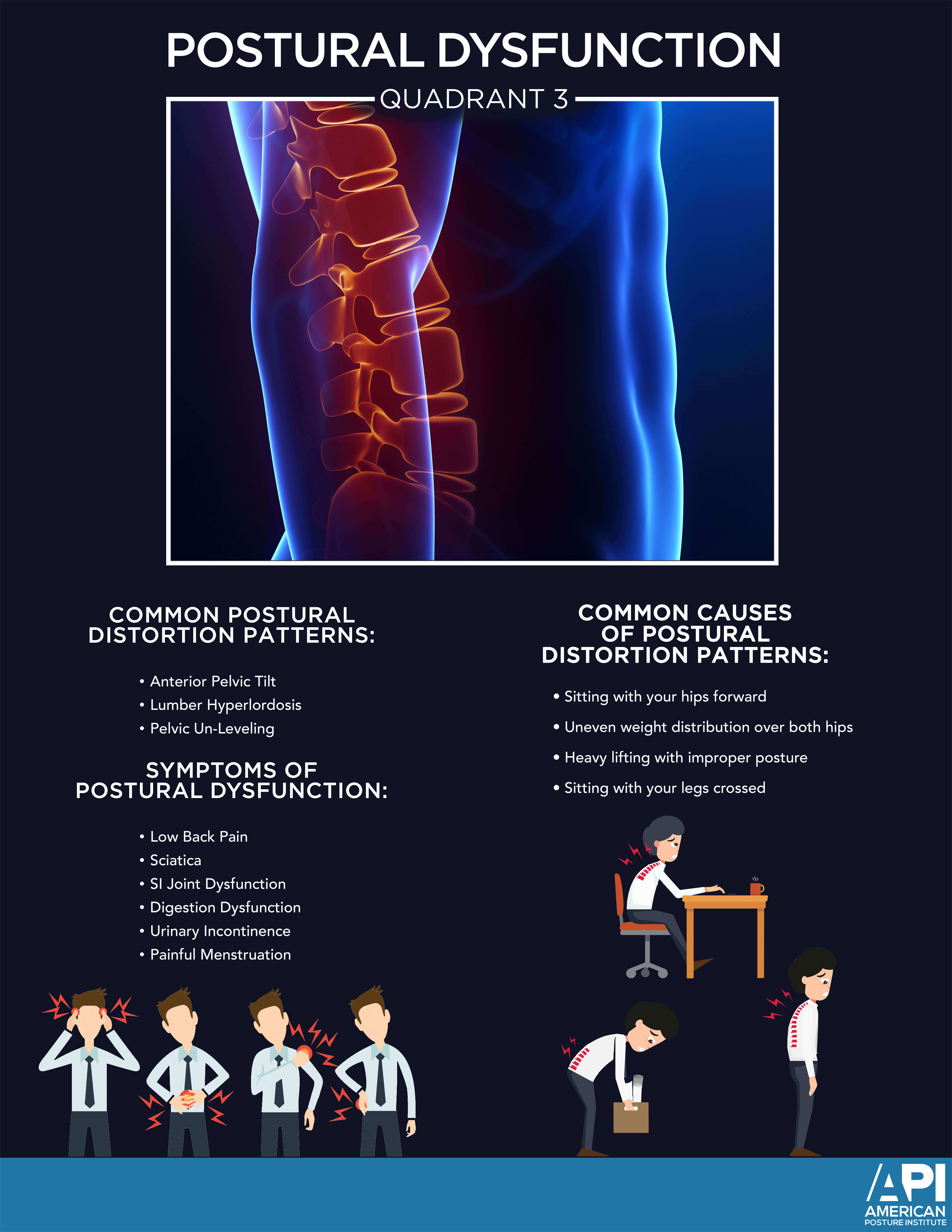 Postural Dysfunction Quadrant 3 Poster